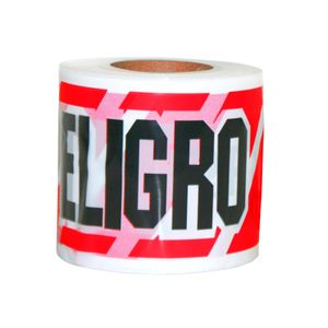 Cinta Señal Peligro 350 Metros Rfx Rojo/negro