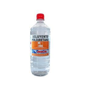 Diluyente Poliuretano 1 Litro Dideval Transparente