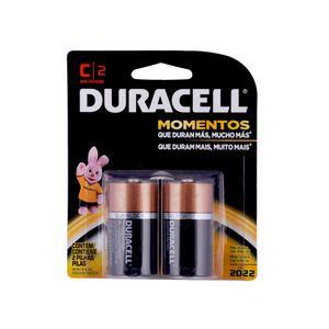 Paquete de 2 pilas alcalinas Duracell