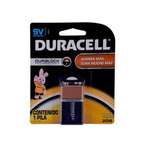 Batería Alcalina 9 Volt Duracell