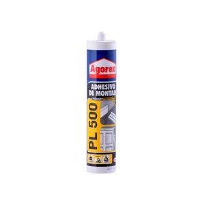 Adhesivo Montaje 370 gr PL 500 Blanco