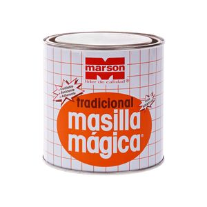 Masilla Mágica Tradicional 700 ml Marson Gris