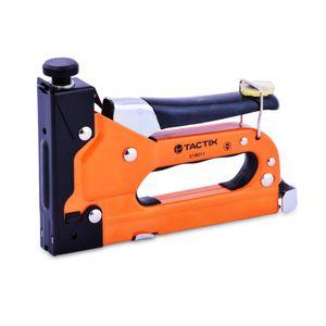 Engrapadora Manual 3 Medidas Tactix Naranja/negro