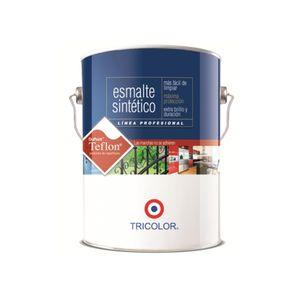 Esmalte Sintético 1 Galón Profesional Tricolor Negro