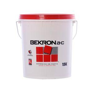 Adhesivo pasta Cerámica 15 Kilos Bekron Blanco invierno