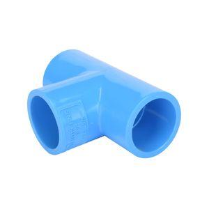 Tee Presión 25 mm Hoffens Azul
