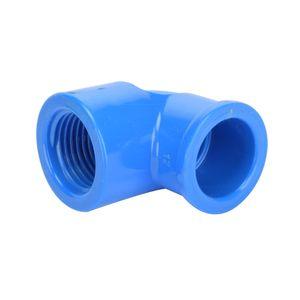 Codo Presión 20 mm Rosca 1/2´´ Hoffens Azul