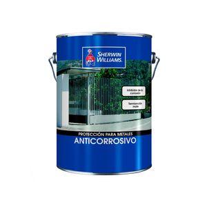 Anticorrosivo alquídico 1 galón Sherwin Williams Negro