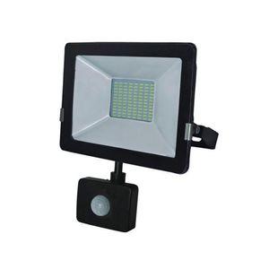 Reflector led 50W con sensor vkb Negro