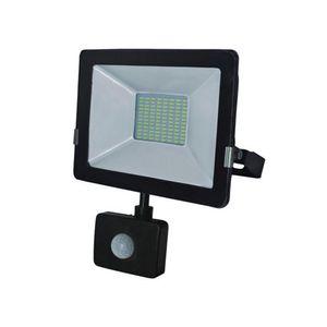 Reflector led 30W con sensor vkb Negro