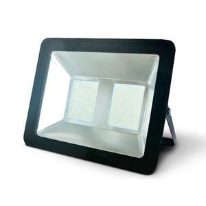 Reflector led 200W plano luz fría vkb Negro