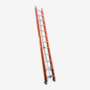 Escalera Telescópica de Fibra de Vidrio Serie 534 28p Technoplus Naranjo